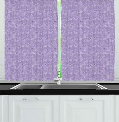 lilac kitchen curtains 2 panel set window