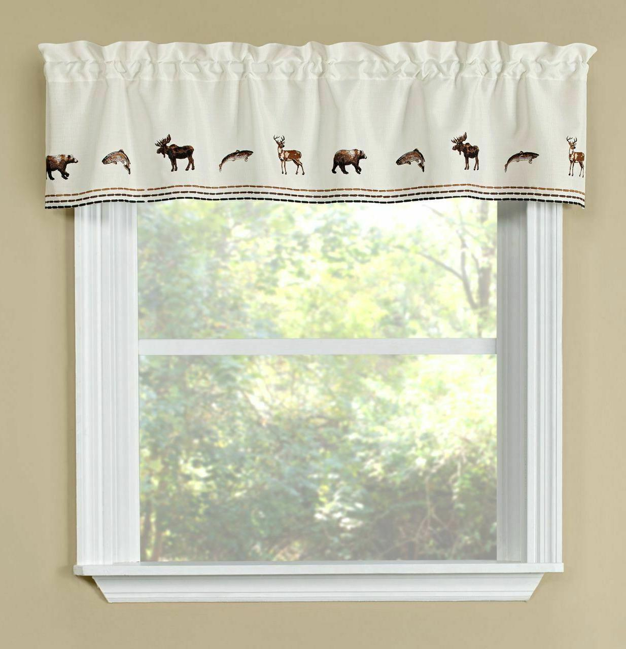 Lodge curtain collection