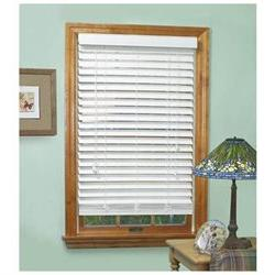 Achim Mf3364Wh02 - Madera Falsa 2 Inch Faux Wood Blind - 33