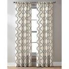 """CHF Industries CHF Morocco Poletop Curtains, Black, 84"""""""