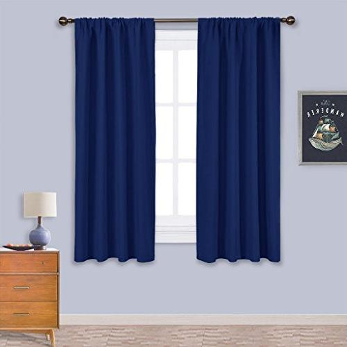 navy bedroom curtains blackout draperies