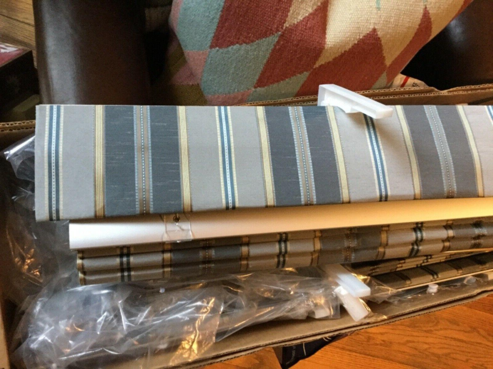 """NEW Levolor Pleated Blinds Valance - 36""""W"""