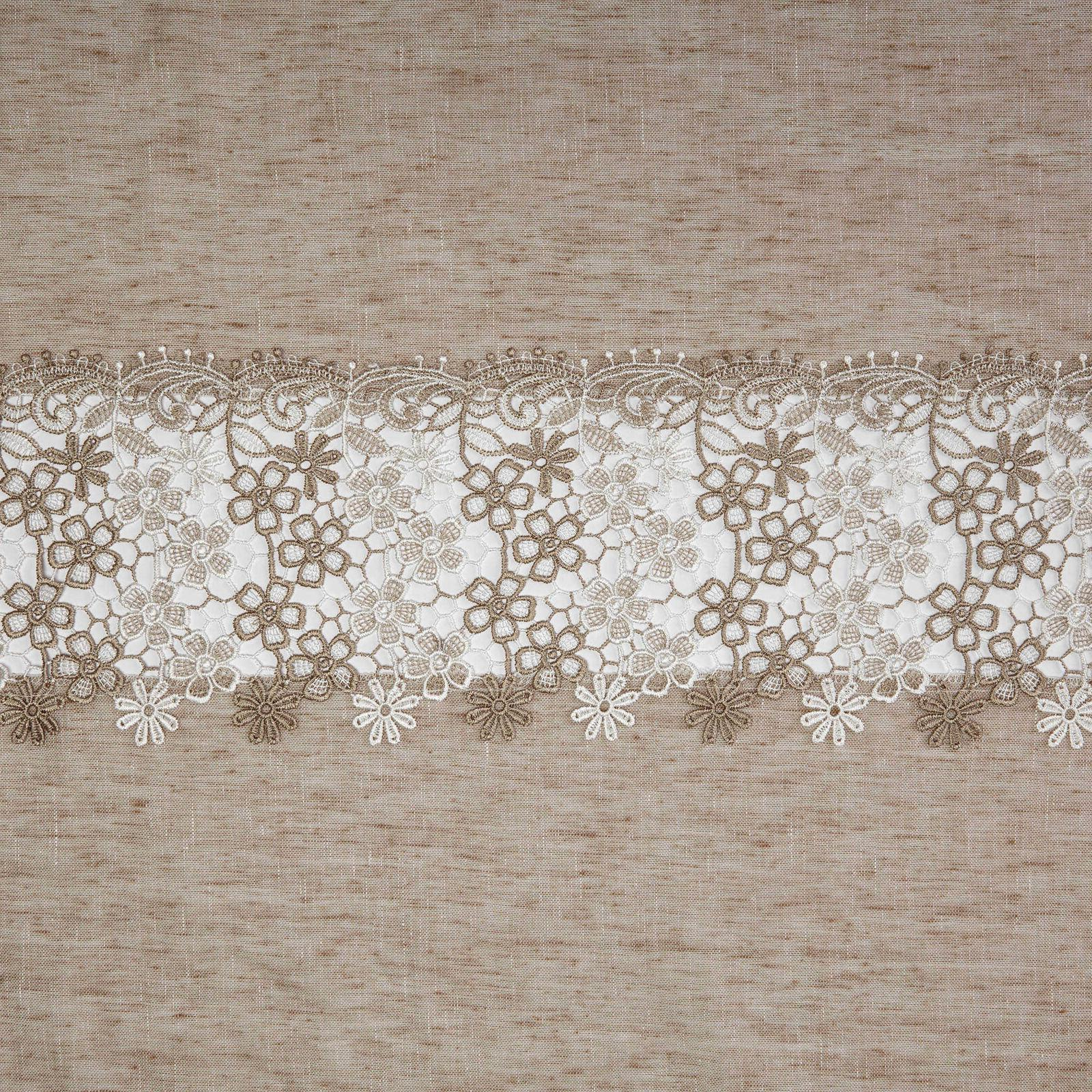 NEW Lillian Kitchen Curtain with Trim Macrame