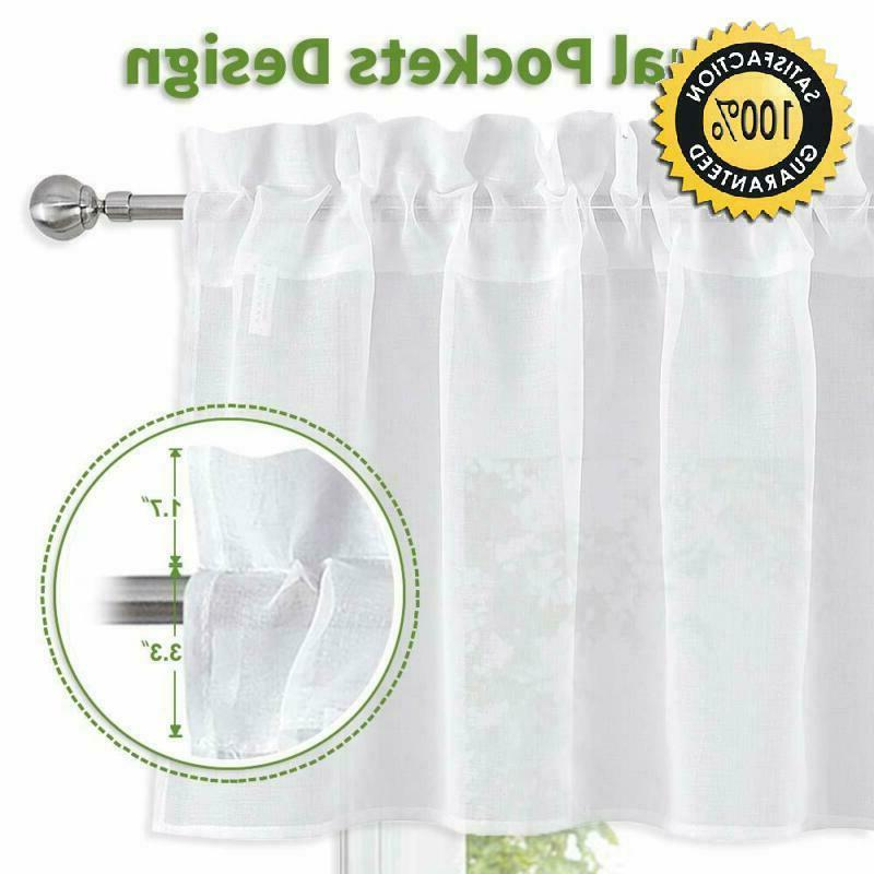 Nicetown For Kitchen Home Fashion Linen Drape