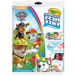 Nickelodeon Paw Patrol Mess Free Color Wonder Markers and Co