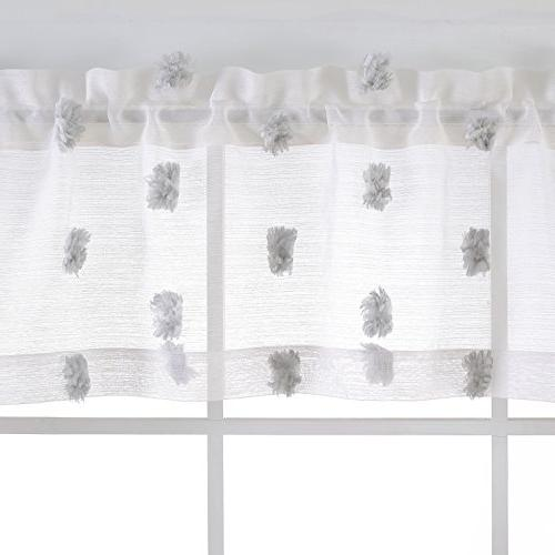 MYSKY HOME Fashion Jacquard and Valance and