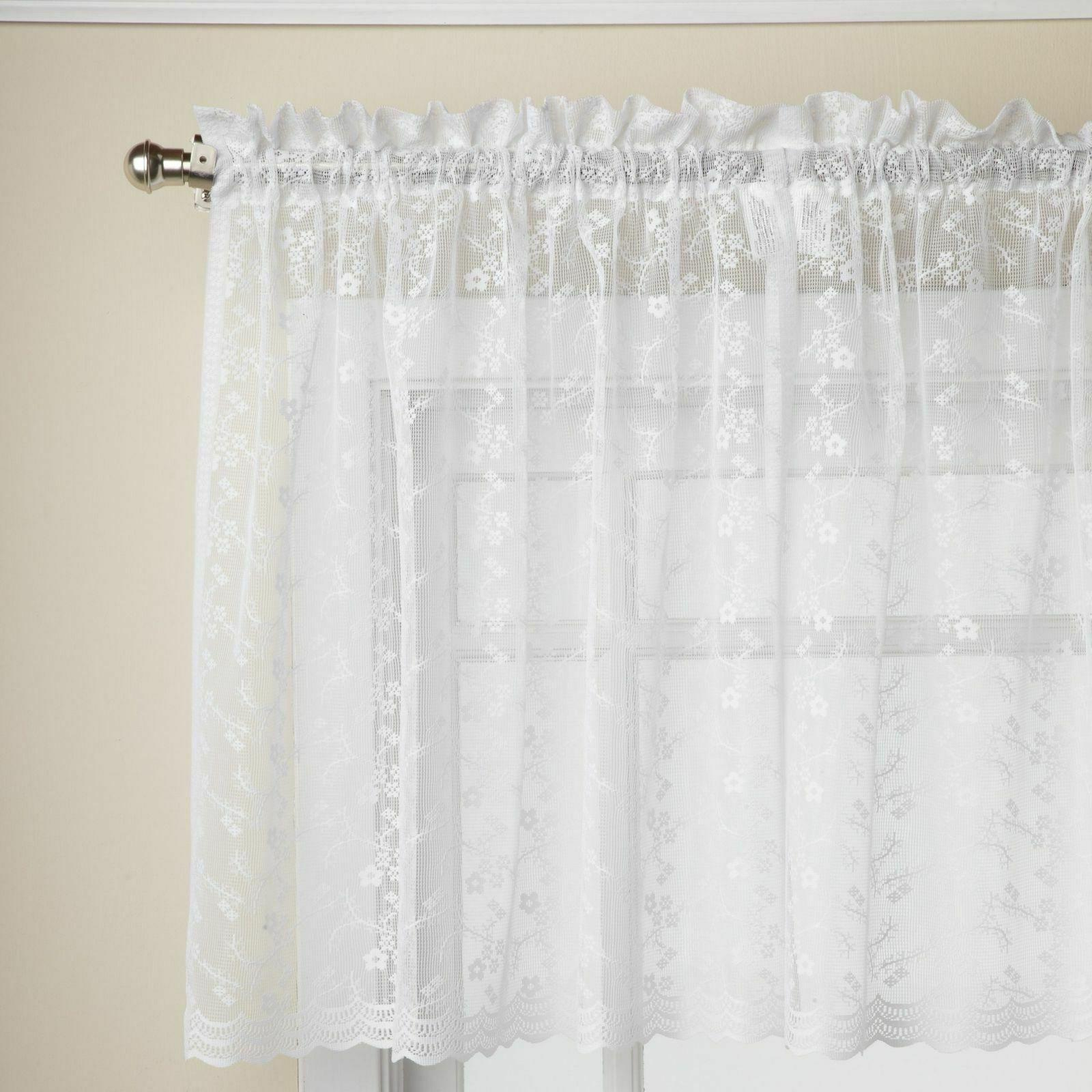 Priscilla Lace Collection White or Ivory -