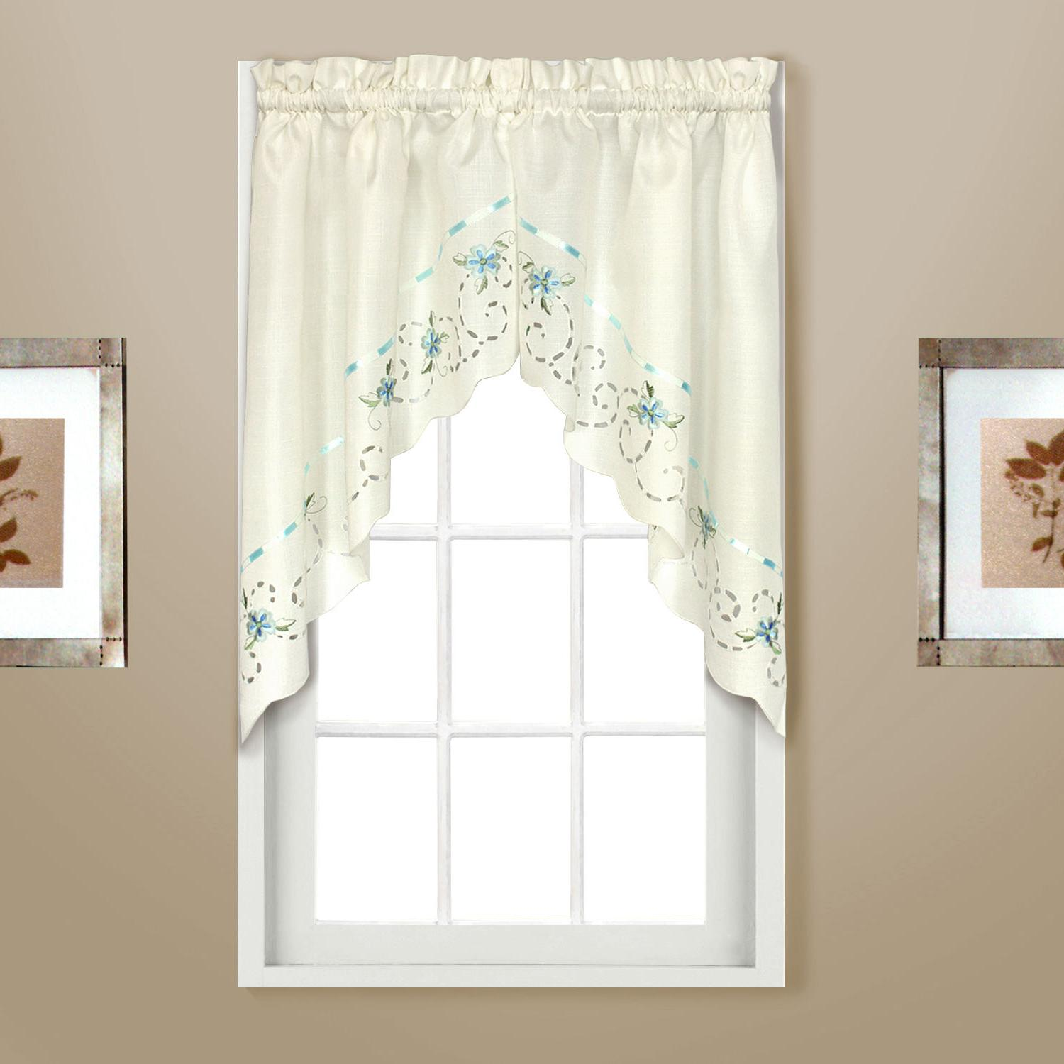 Rachael embroidered Kitchen - Swags, Valances !