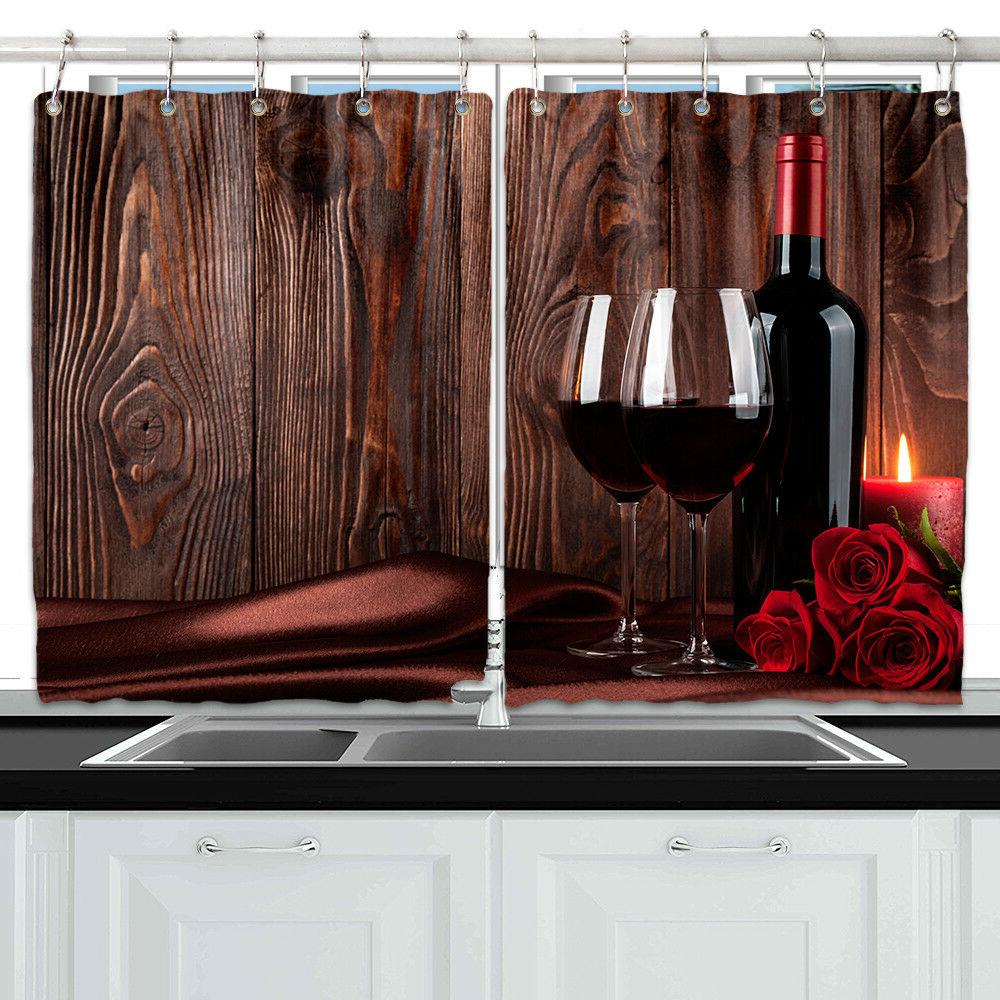 red wine rose wood wall decor kitchen