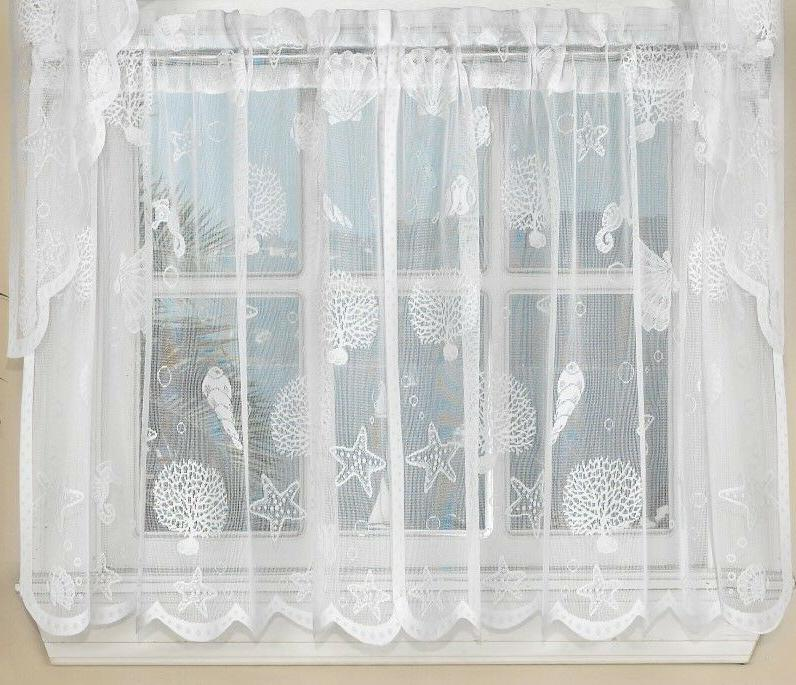 kitchen curtains White or Ivory - !