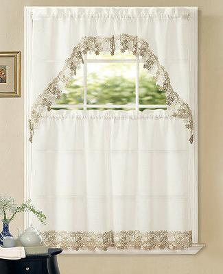 Regal Home Kitchen Curtain Swag Colors