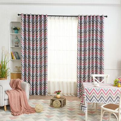 Ring Top Thermal Blackout Curtain for Bedroom Kitchen