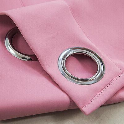 Ring Top Insulated Blackout Curtain For Kitchen US
