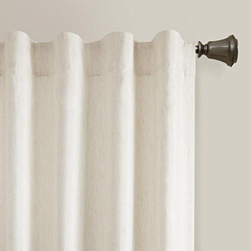 Rod For Bedroom,Transitional Red Curtains, Embroidered Curtain Room Family Room 50x84,