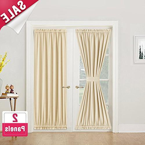 room darkening french door curtains