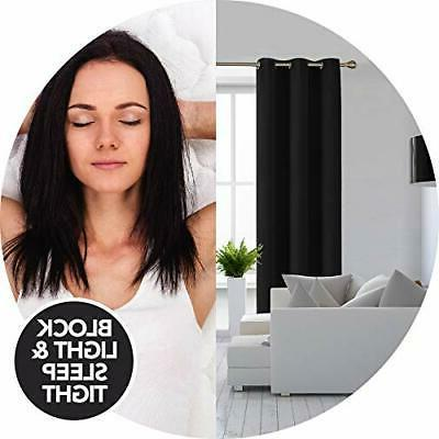 Room Thermal Insulated Blackout Curtains