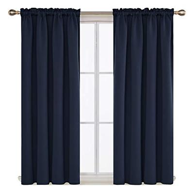 Deconovo Pocket Thermal Insulated Curtains Room