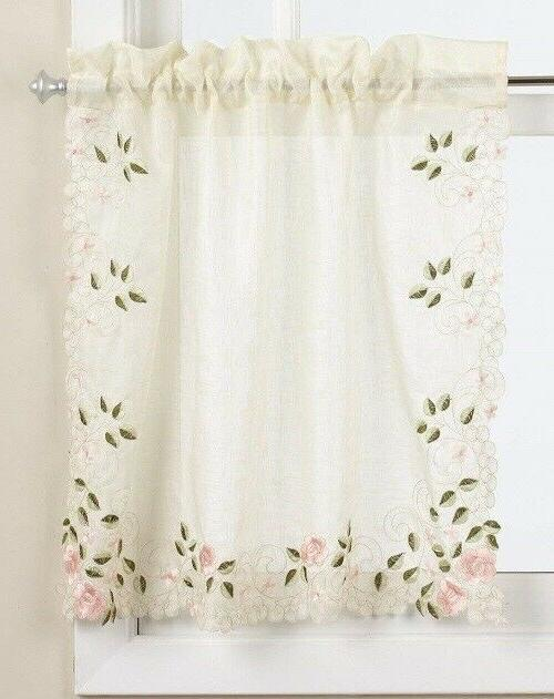 Rosemary Floral Kitchen Curtain {Brand