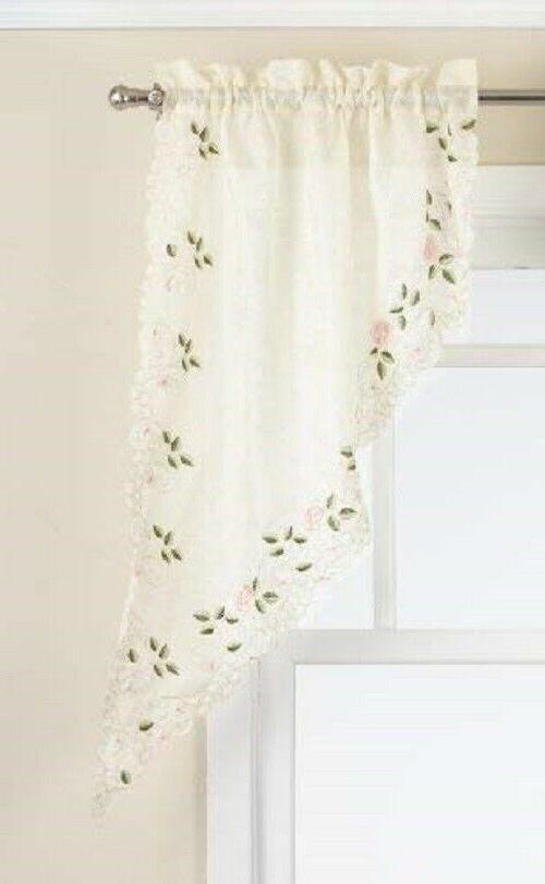 Rosemary Embroidered Curtain {Brand