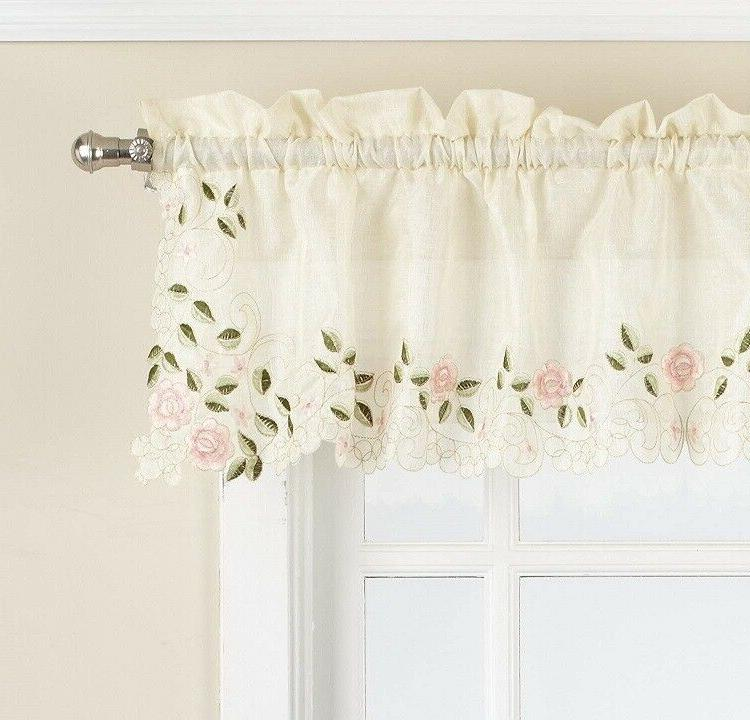 Rosemary Embroidered Curtain Collection {Brand NEW}