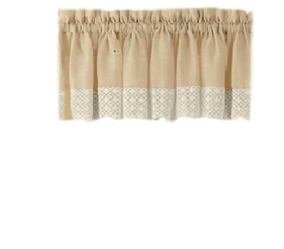 Salem Kitchen Curtains 5 colors - Tiers, Swags,