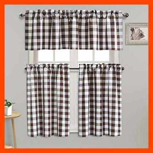 Semi Kitchen Curtains Thermal Insulated