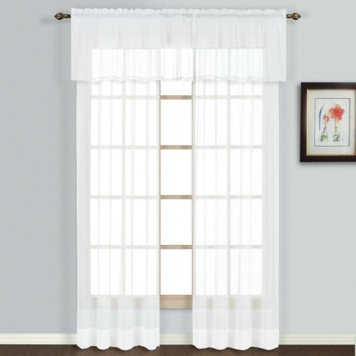 American Curtain and Home Semi-Sheer 54-Inch by