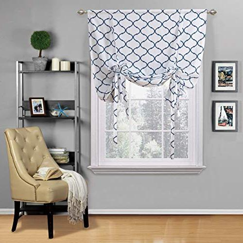 Regal Home Collections Shabby Lattice Assorted Colors