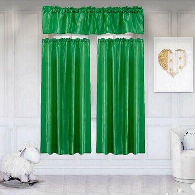 3 Solid Blackout Curtain Suit Room