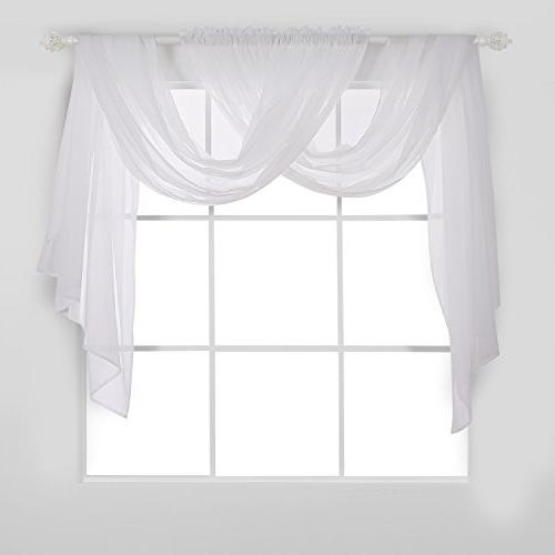 solid rod pocket curtains sheer