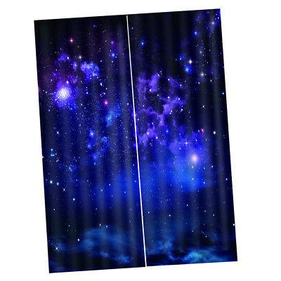 Starry Curtain Waterproof Thermal Insulated Curtain f/ Kitchen