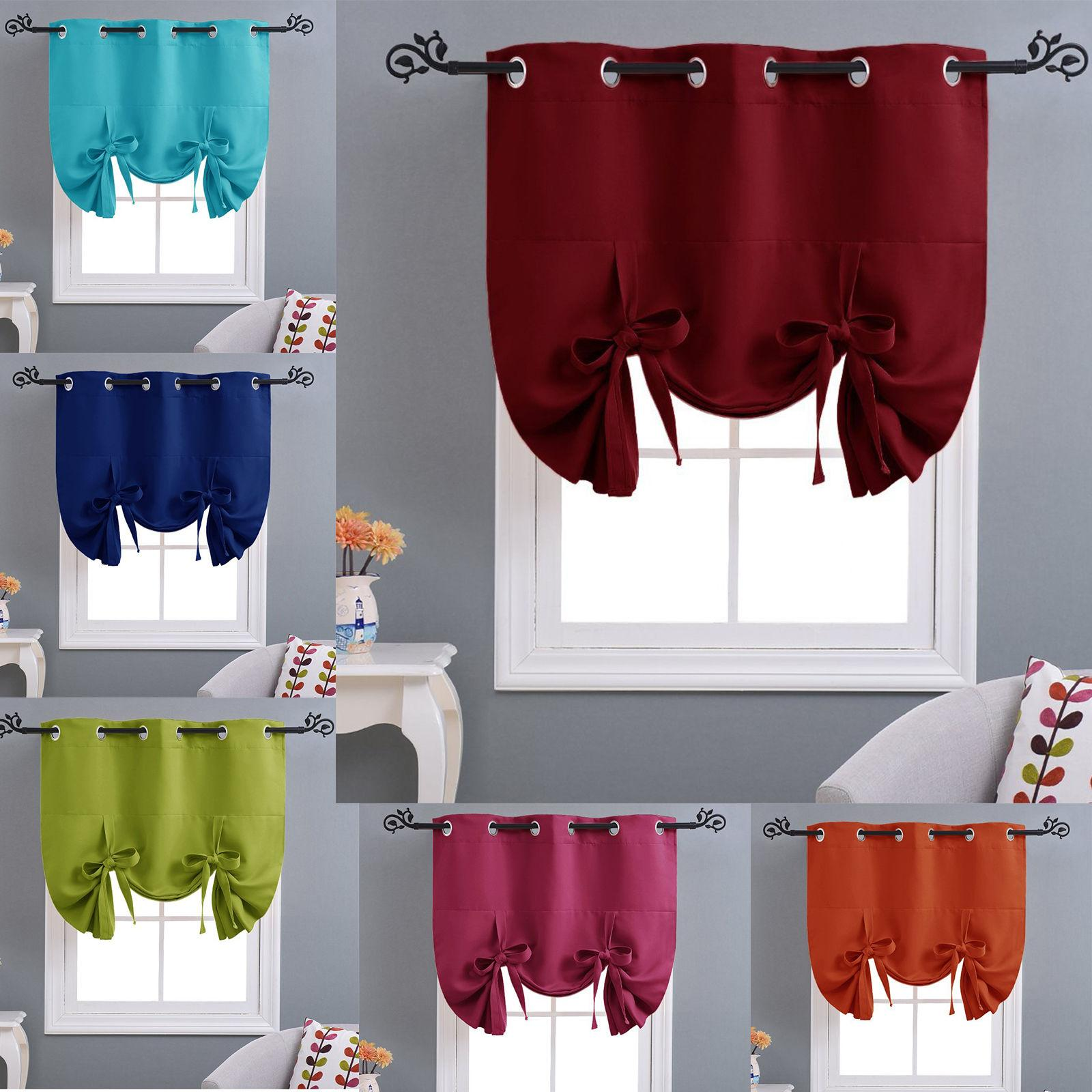 thermal drapes curtains tie up insulated shade