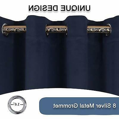 YGO Thermal Insulated Blackout Kitchen Energy Efficient Grommet Top X
