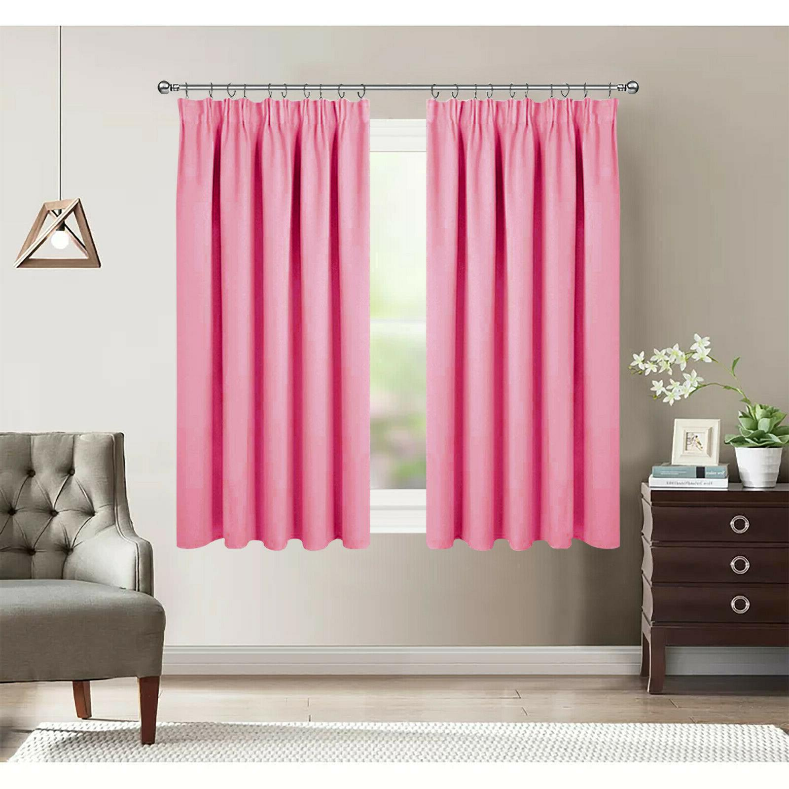 Thermal Window Pencil Pleat for