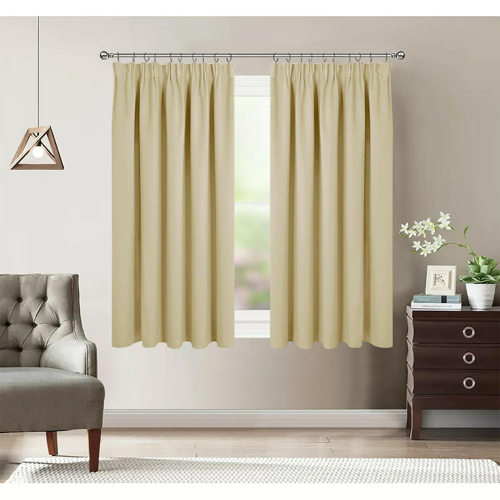Thermal Insulated Window Curtain for Kitchen