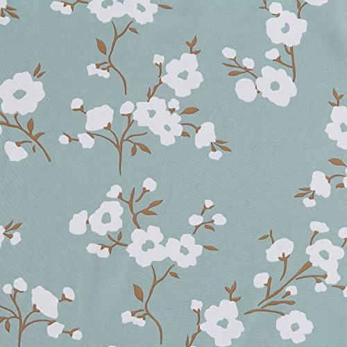 H.VERSAILTEX Ultra Soft Curtains, Curtain Tiers Bath, Bedroom - Aqua