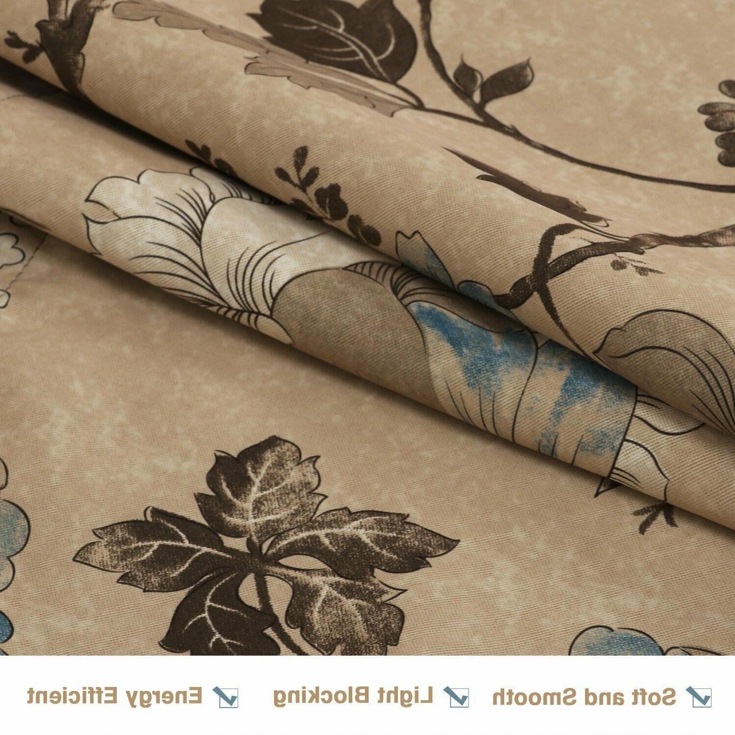 Thermal Insulated Curtains Rod Kitchen Curtain