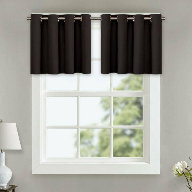 thermal insulated kitchen curtains home decoration energy