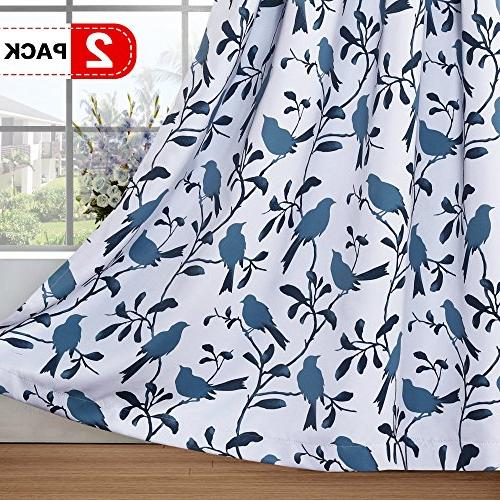 thermal insulated room darkening curtains