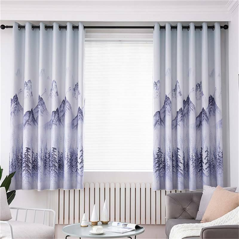 Thick Wavy Curtains Curtains Decoration