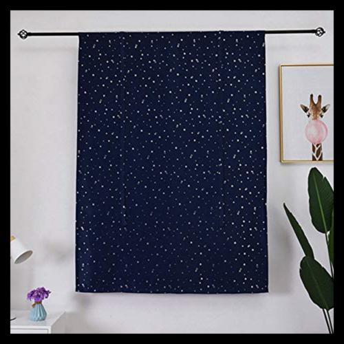 Tie Up Satr Thermal SMALL Kitchen Curtains D