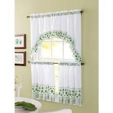 Better Homes and Gardens Tier Window Set - Ivy