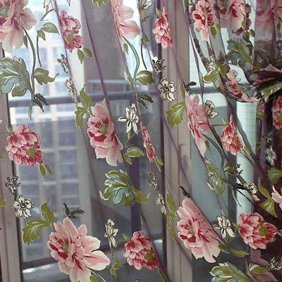 Transparent Cafe Curtain Decor