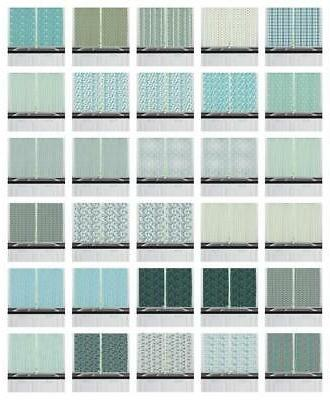 turquoise kitchen curtains 2 panel set window
