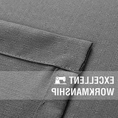 Grey for Sheer Curtains Casual Privacy Window Curtains inch Grommet Top