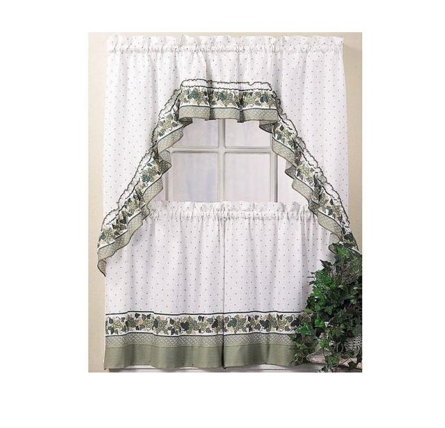 Curtains With Country Window Kitchen
