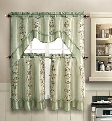 VCNY Curtain Set - Assorted Colors