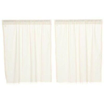Tobacco Cafe Kitchen Curtains VHC Tier Color