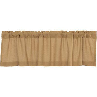 Chocolate Kitchen Curtains Rod Pocket Cotton