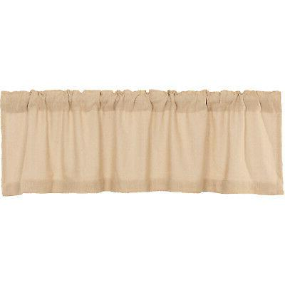 VHC Farmhouse Chocolate Rod Pocket Cotton